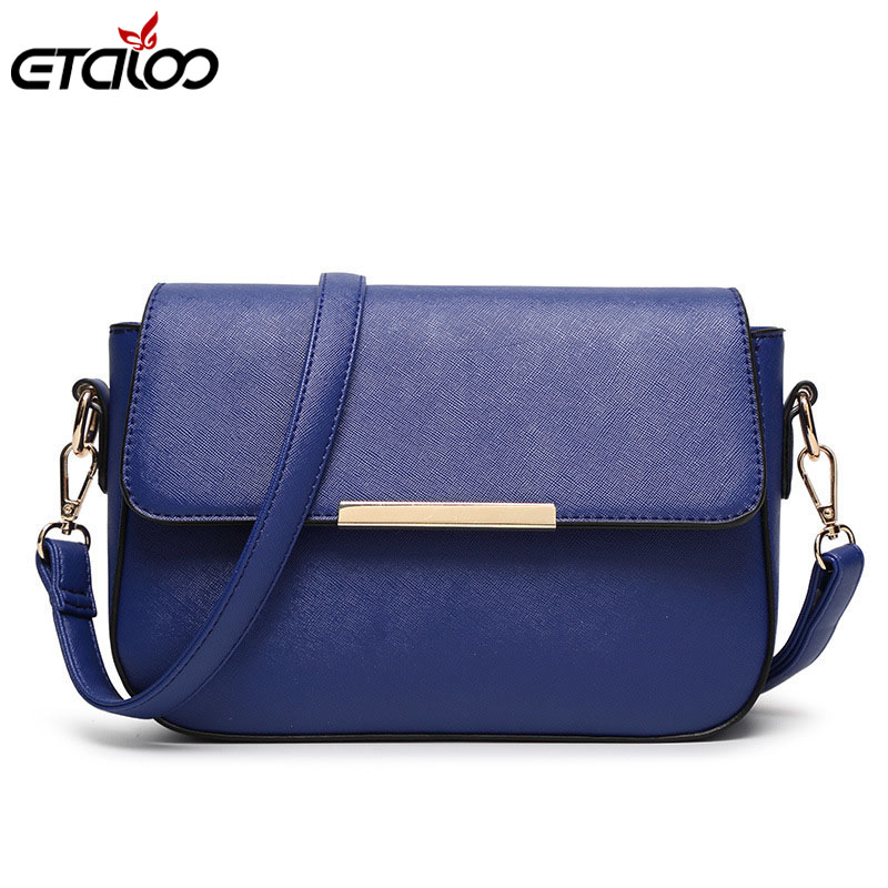 Women handbags message bag Korean version of the shoulder diagonal cross-trend fashion handbag small square bag
