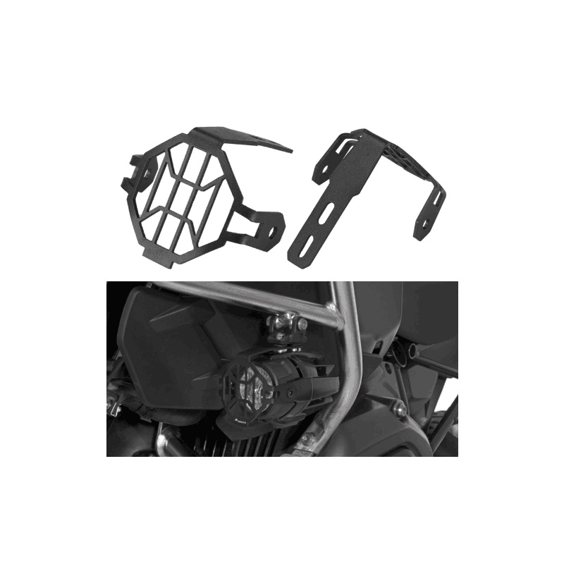 For BMW Motorcycle Fog Light Protector Guards Cover For BMW R1200GS F800GS Adventure ADV 2005-2013