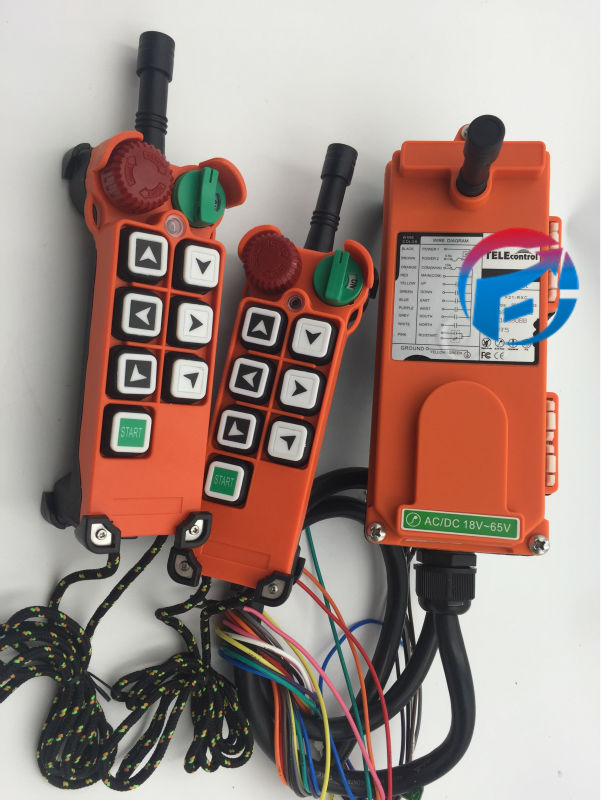 F21-E2 Radio Hoist Crane Wireless Remote Control Switch Low Voltage AC/DC18V-65V (2 Transmitter +1 Receiver) saunier duval thema classic f 21 e