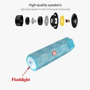 Image 4 - אלחוטי Bluetooth רמקול עמיד למים נייד חיצוני מיני טור רמקול תמיכת רדיו FM TF כרטיס סטריאו HiFi סאב Boxs