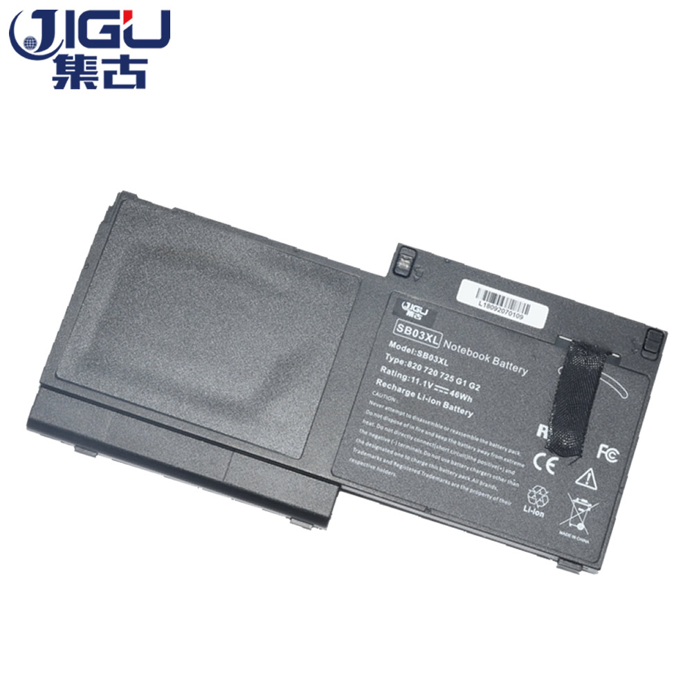JIGU Laptop Battery E7U25AA HSTNN-IB4T HSTNN-l13C HSTNN-LB4T SB03046XL SB03XL For HP EliteBook 720 G1 G2 725 820 jigu laptop battery bl06042xl bl06xl hstnn db5d hstnn ib5d hstnn w02c for hp for elitebook folio 1040 g0 g1 l7z22pa