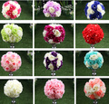 New Arrival 10pcs/lot Wedding Road Lead Artificial Flowers Wedding Table Flowers Table Centerpiece Flower Balls Decorations