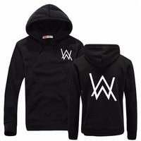 Fashion Men Sweatshirts Music DJ Divine Comedy Alan Walker Faded Coat Hoodies Sweatshirts Men Pullovers Brand
