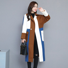 0929bfa66d Kaszmirowy płaszcz dla kobiet stylowe ubrania zimowe płaszcze damskie 2019  imitacja kaszmiru odzież młodzieżowa jesień długa kur.