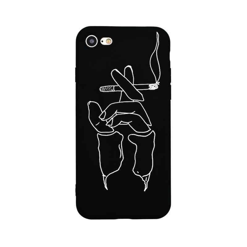 Silicone TPU Phone Case Voor Huawei P20 Pro P10 Maan Sterren Geschilderd Patroon Matte Cover Voor p9 lite 2017 10 p10 lite Cover Terug