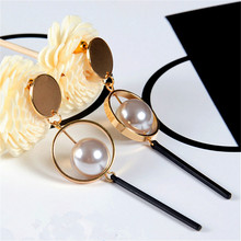 Act the role ofing is tasted The new fashion design restoring ancient ways of pearl earrings texture Stud earrings female group