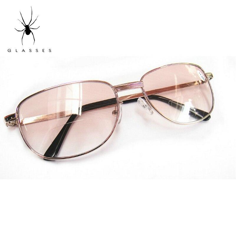 Quality Fashion Bifocal Reading Glasses Resin Ultra Light Glasses Portable Male Women Old