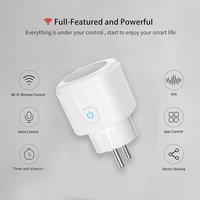 KMAX Smart Socket Plug WiFi Wireless Remote control Socket Adaptor Power on and off with APP alexa intelligent free DIY