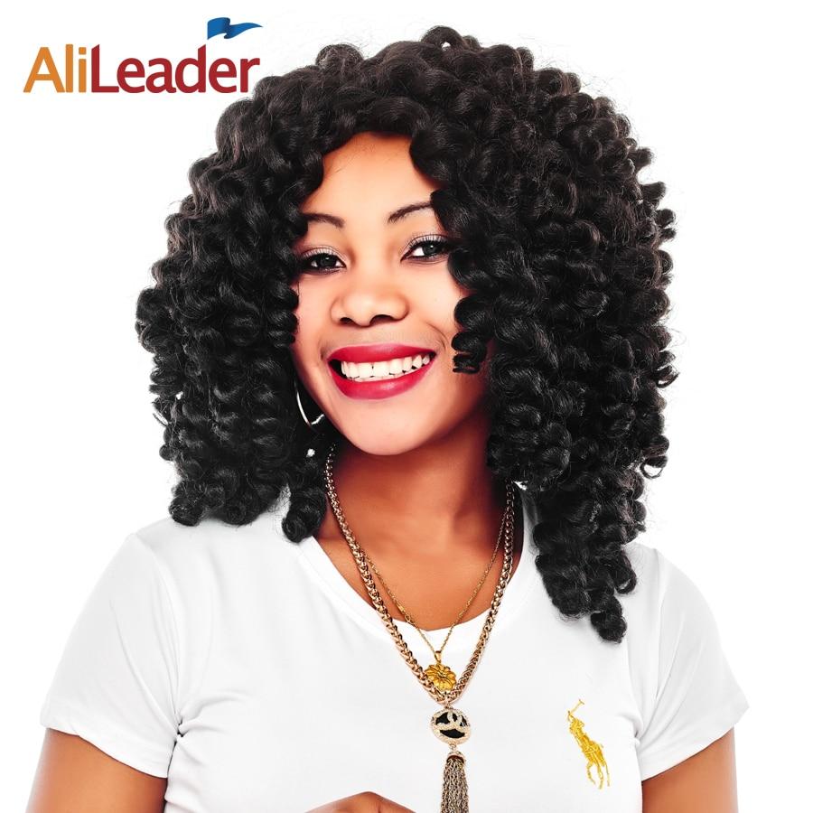 Compare prices on jamaican hair extensions online shoppingbuy alileader 7pcslot jumpy wand curl kanekalon braiding hair short crochet braids jamaican bounce pmusecretfo Choice Image