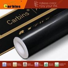 4D супер углеродная глянцевая виниловая пленка из углеродного волокна для оклеивания автомобилей