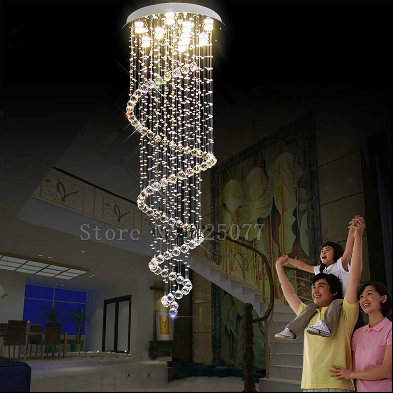 DHL shipping hall chandelier size Dia600*H3600mm home villa decoration crystal chandeliers,super hotel crystal lights JF1287