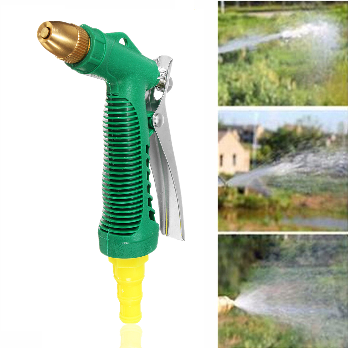 Copper Adjustable High Pressure Car Washing Water for Gun Head Garden Household Washing Cleaning