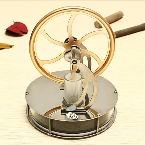 Discovery Toys Low Temperature Stirling Engine Model font b Educational b font Toy Gift For Kid