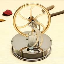 Juguetes descubrimiento Baja Temperatura Del Motor Stirling Modelo de Juguetes Educativos de Regalo Para El Cabrito