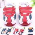 Высокое Качество Anti-Slip Детская Обувь с Жесткой Подошвой Кожа Малышей Детские Спортивная Обувь Для Мальчиков Девочек 0-15 месяцев
