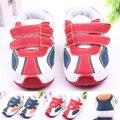 Alta Calidad Antideslizante Bebé Zapatos de Suela Dura de Cuero Niño Bebé Zapatos Deportivos Para Niños Niñas 0-15 meses