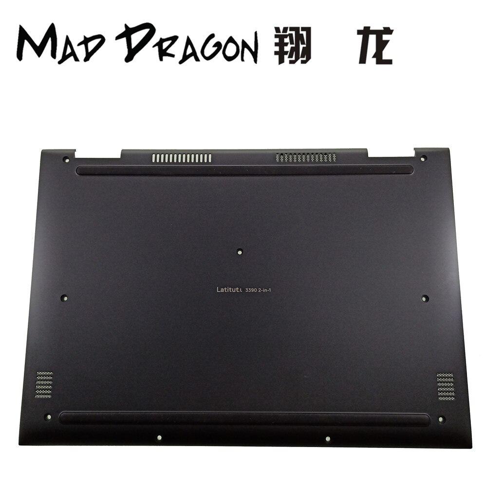 MAD DRAGON marque ordinateur portable nouveau fond noir couvercle de couverture assemblage pour Dell Latitude 3390 2-en-1 E3390 4PYV5 04PYV5 460.0E303.0001
