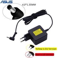 ASUS 19 В 1.75A 33 Вт AC Ноутбук Мощность Адаптер дорожный Зарядное устройство для ASUS Vivobook S200 S220 X200T X202E X553M Q200E X201E ADP-33AW