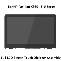 Full LCD Screen Touch Glass Digitizer Assembly Bezel Controller Board For HP Pavilion X360 13 U164tu