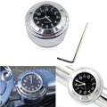 New Motorcycle Bike Handlebar Mout Dial Thermometer Temp Gauge Waterproof Dustproof Aluminum Alloy Replacement Free Shipping