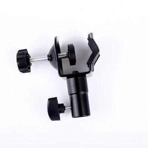 """Image 3 - Cy in voorraad zware c clip u klem type voor foto studio light stand 1/4 """"schroef head light stand fotografische accessoires"""
