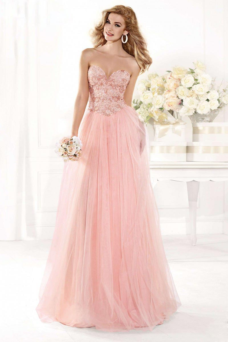 A-line Sweetheart Floor Length Appliques vestido de noiva Long Backless Formal Sleeveless Prom prom Gown 2018   bridesmaid     dresses