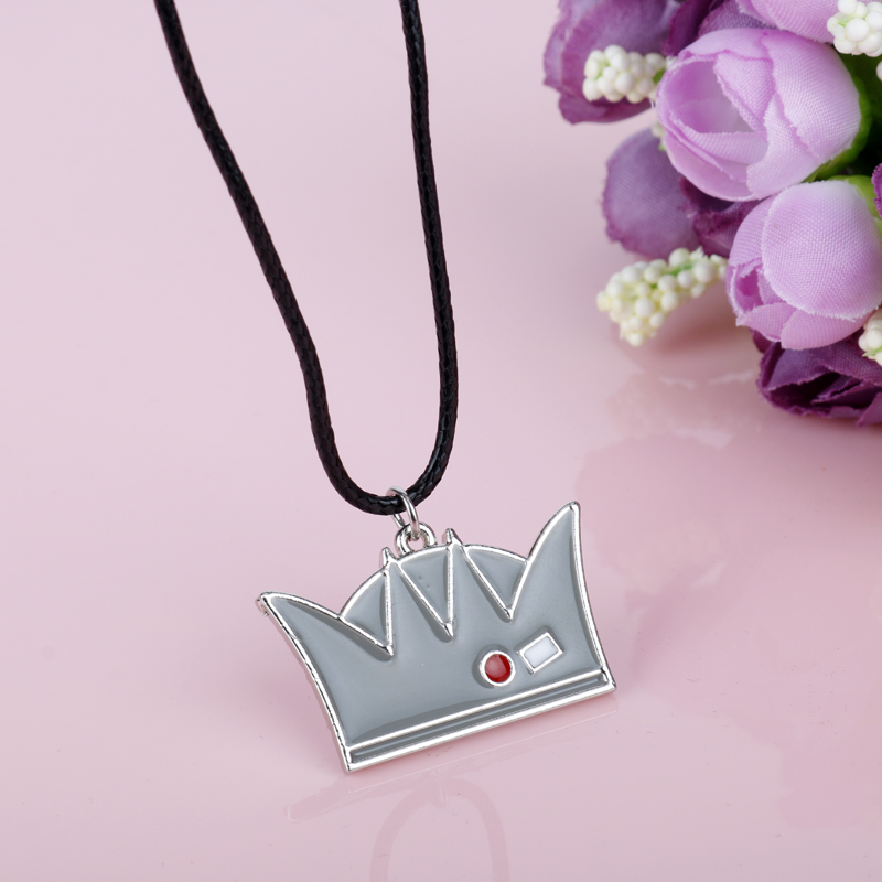 dongsheng Riverdale Hat Charm Necklace Moda Jughead Jones Crown Hat - Bisutería - foto 4