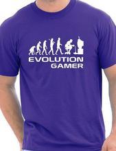 "Fantastic ""Evolution Of A Gamer"" geek t-shirt"