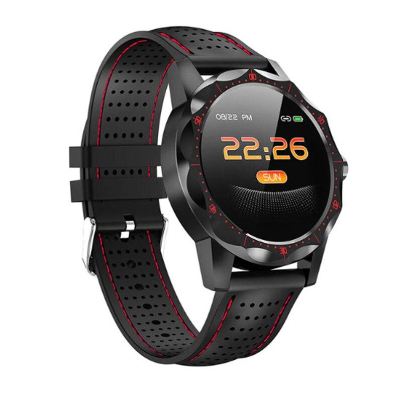Смарт часы SKY1, фитнес трекер, IP68 водонепроницаемый, новинка, мужские и женские часы, смарт браслет для телефонов IOS и Android|Смарт-часы|   | АлиЭкспресс