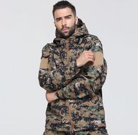 High Quality Outdoor Lurker Shark Skin Soft Shell TAD New Color Military Tactical Fleece Jacket Waterproof