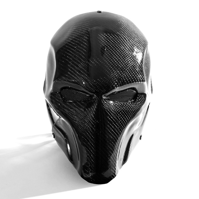 Supervillain Real Carbon Fiber  Full Face Mask