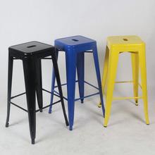 цена Quality Metal bar stool high stool bar chair front desk bar chair онлайн в 2017 году
