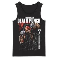 Bloodhoof Five Finger Death Punch Grindcore Alternative Metal Deathcore Heavy Metal Fashion Men's Tank Tops Asian Size