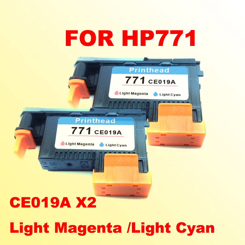 2PCS printhead for for hp771 Light Magenta /Light Cyan DESIGNJET 771 Z6200 printer цена 2017