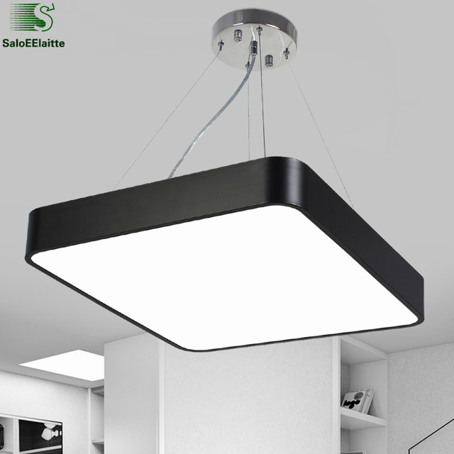 Modern Re Luminaria Led Pendant Light Metal Dimmable Office Lamp Indoor Lighting Fixture Dining Room Suspension
