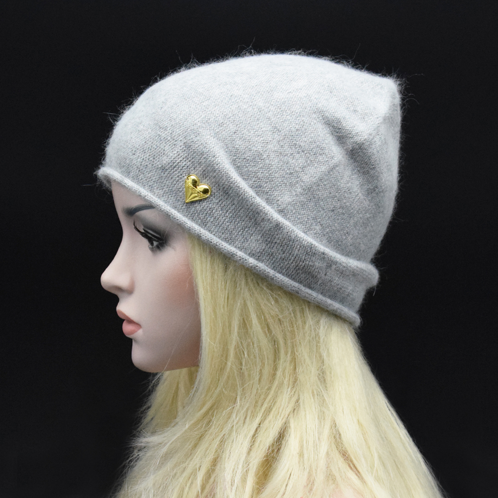MIGEDE Brand 2017 New Solid Wool Winter Hats For Women Knitted Vogue Brand Casual Warm Hat