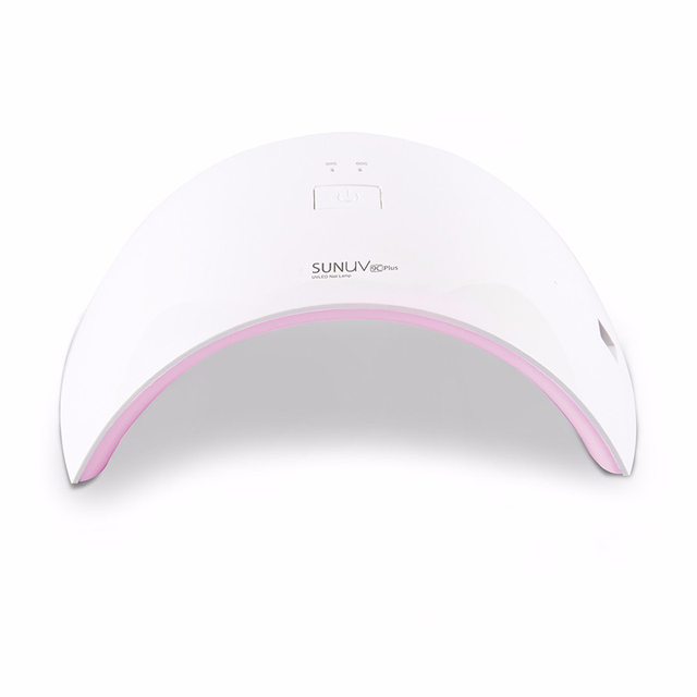 SUNUV SUN9c Plus 36W UV LED Nail lamp 18 LEDs Nail dryer for All Gels with 30s/60s button Perfect Thumb Solution 1