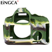 Funda de goma para cámara de vídeo, protección corporal, para Canon 5DS 5DSr 5diii 5D4 6D 60D 70D 80D 1300D 100D 800D 600D DSLR