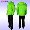2016 MOTOBOY Motocross Riding Sports Car Split Raincoat Rain Pants Suit Professional Male Motorcycle Rain Gear And Equipment