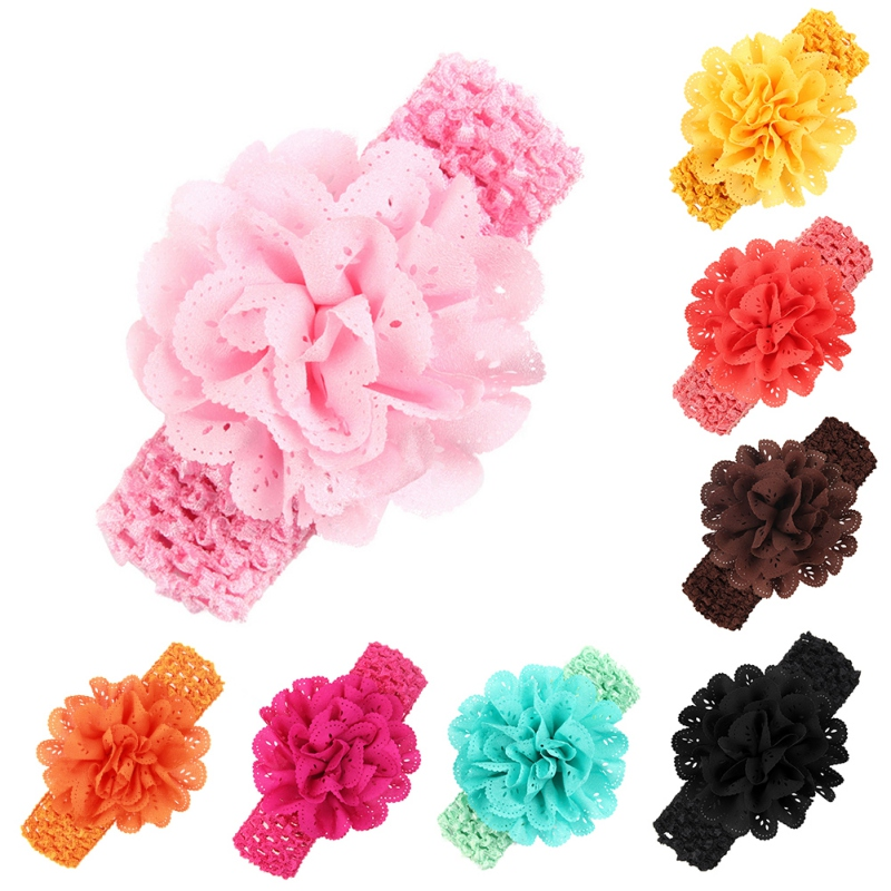 2018 Stylish Toddler Headwear Infant Kids Girl Baby Headband Toddler Flower Hair Band M2
