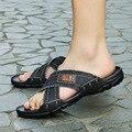 DreamShining Verano Hombres Casuales de Mezclilla de Moda antideslizante Zapatos Zapatillas de Playa Chanclas Sandalias Masculinas de Los Hombres Ocasionales Al Aire Libre
