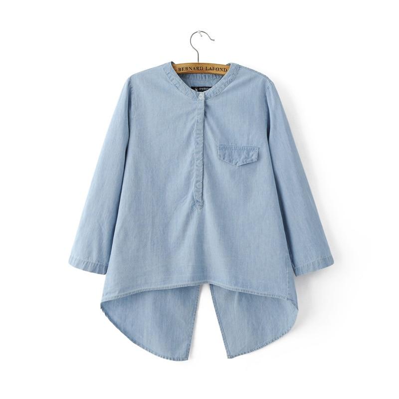Popular top designer jeans buy cheap top designer jeans for Ladies light denim shirt