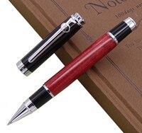 をデュークセルロイド赤ローラーペン美しい流砂レオナルド · ダ · ヴィンチ M ポイント品質ギフトペンビジネスオフィス家庭用品