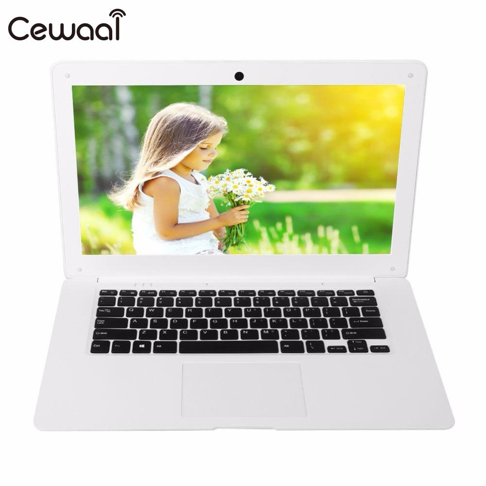 "Cewaal 14"" Ultra Thin Laptop Windows 10 Quad-Cores Intel (Atom) X5 Z8350 4GB RAM 64GB ROM SSD Quick Start 1.44GHz Dual Speakers"
