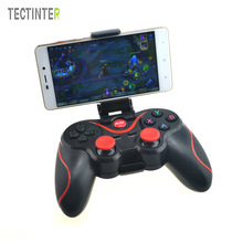 T3 Spelkontroller Smart Phone Joystick Trådlös Bluetooth 3.0 Android Gamepad Gaming Fjärrkontroll för PC-telefon Tablet