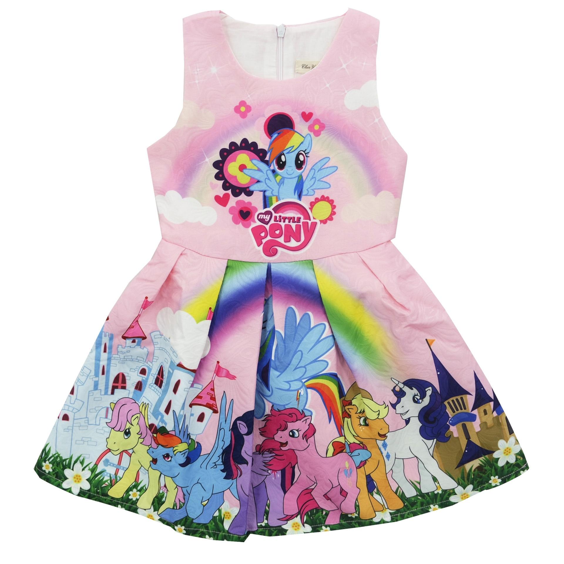 Baby Girl Nightgown Short Sleeve Big Girl Clothing Descendants