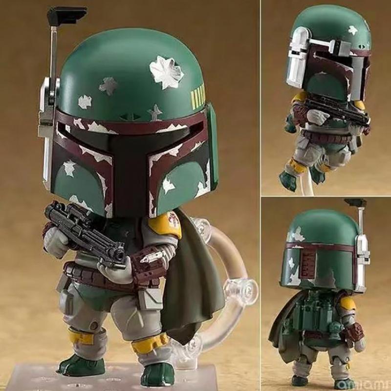 Star Wars Nendoroid Jouet Episode V The Empire Strikes Back Boba Fett 706 Action PVC Figure Collection Modèle Jouets 4 10 cm