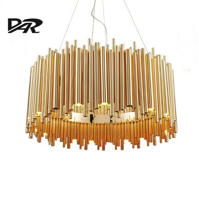 Italy Design Delightfull Brubeck Pendant Lights Gold Aluminum Alloy Tube Contemporary Suspension Luminaire Fashion Project Lamp.jpg 640x640 10 Beau Luminaire Suspension Multiple