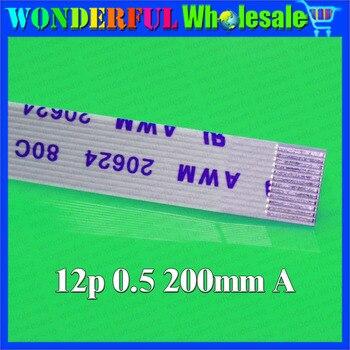 AWM 20624 80C 60V interruptor Cable botón de encendido Panel táctil cinta FPC para HP DV9000 DV6000, dirección hacia adelante, 12 pines 200mm