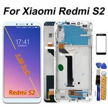 IPS Display A CRISTALLI LIQUIDI Per Xiaomi Redmi S2 Touch Screen Digitizer Assembly Frame Per Xiaomi Redmi S2 LCD da 5.99 pollici di Vetro pellicola